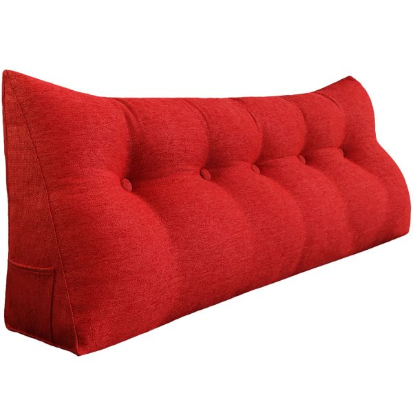 Backrest pillow 59inch red 01