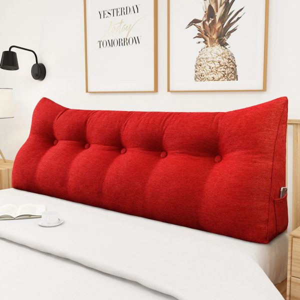Backrest pillow 59inch red 02