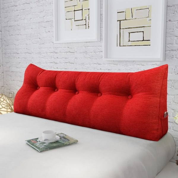 Backrest pillow 59inch red 03
