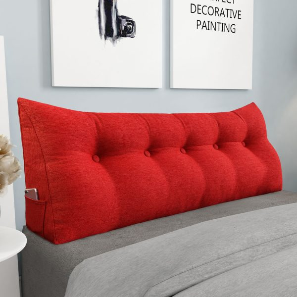 Backrest pillow 59inch red 04