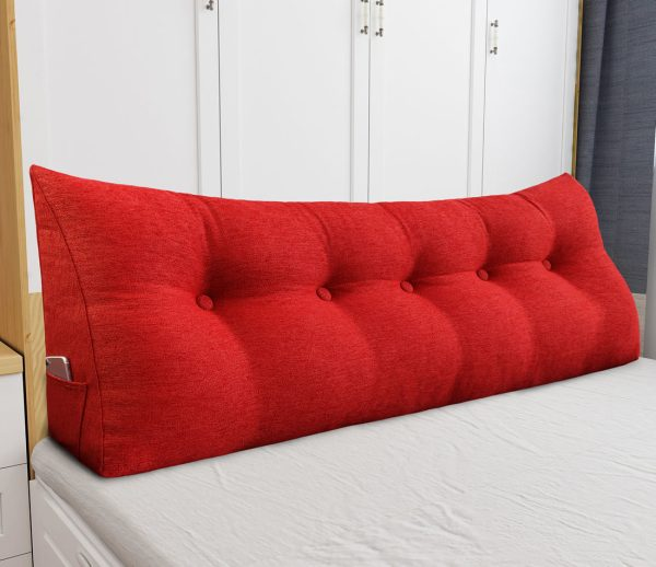 Backrest pillow 59inch red 05