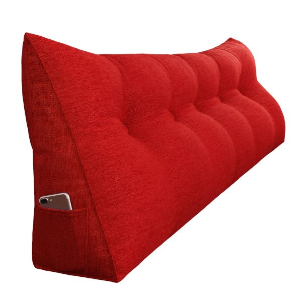 Backrest pillow 59inch red 07
