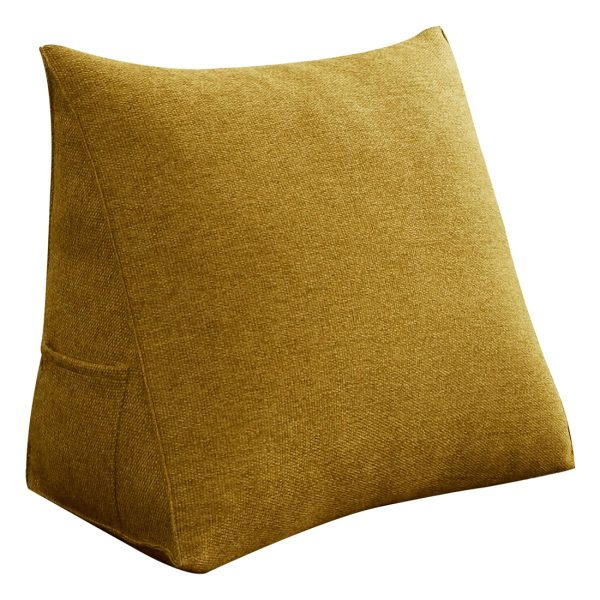 Reading pillow 18inch yellow 04