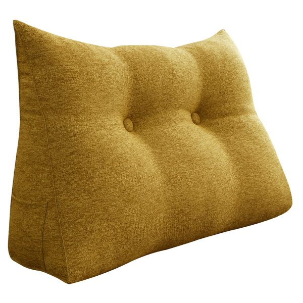 Reading pillow 24inch yellow 01