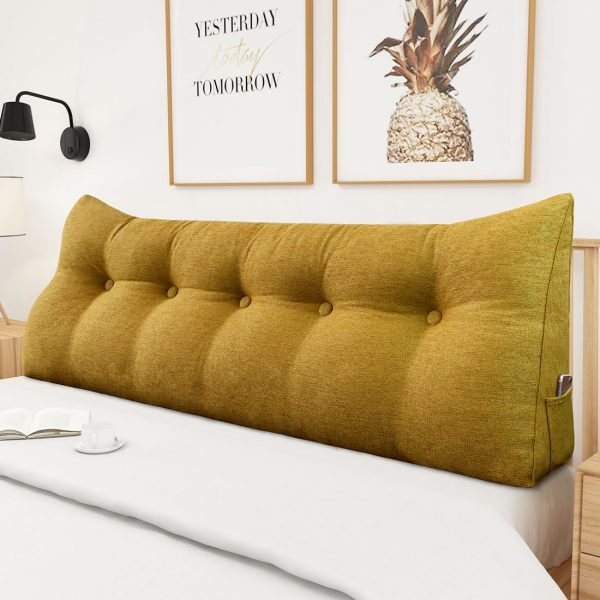 Reading pillow 59inch yellow 03
