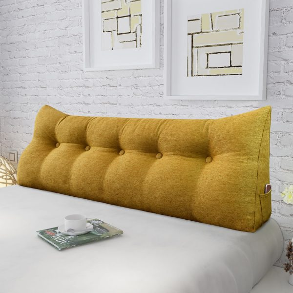 Reading pillow 59inch yellow 05