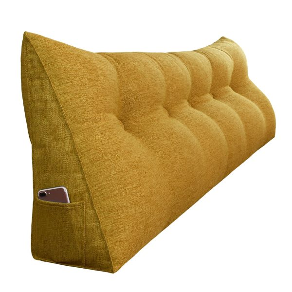 Reading pillow 59inch yellow 07