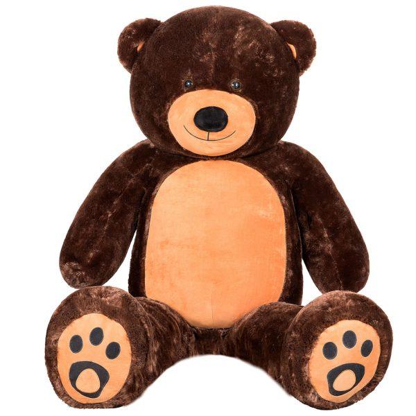 Daney teddy bear 6foot dark brown 009
