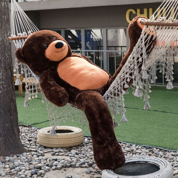 Daney teddy bear 6foot dark brown 017