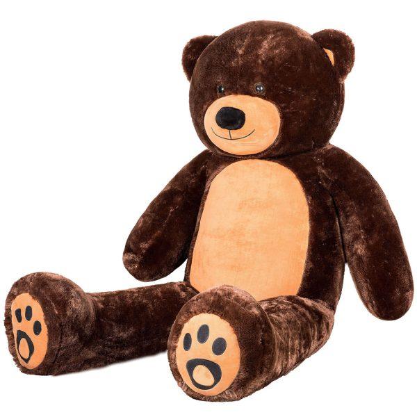 Daney teddy bear 6foot dark brown 024