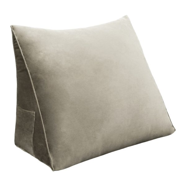 Backrest pillow 18inch Tan 01