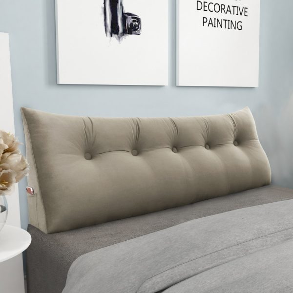 Backrest pillow 59inch Tan 04