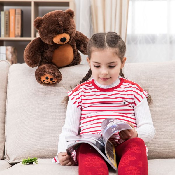 Daney teddy bear 25 dark brown 002
