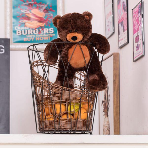 Daney teddy bear 25 dark brown 003