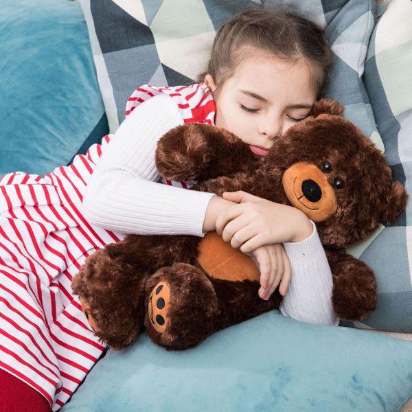 Daney teddy bear 25 dark brown 004