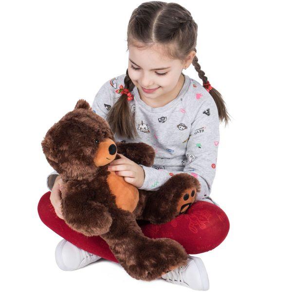 Daney teddy bear 25 dark brown 005