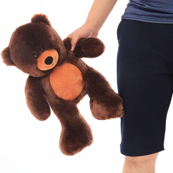 Daney teddy bear 25 dark brown 006