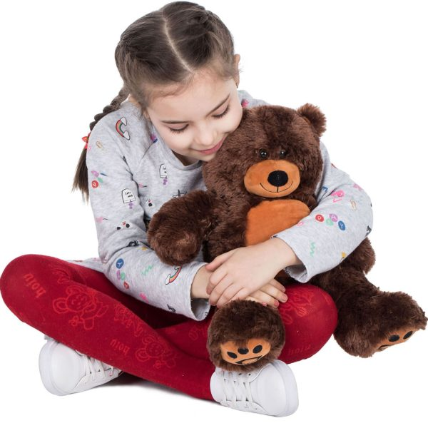 Daney teddy bear 25 dark brown 008