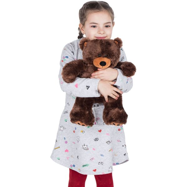 Daney teddy bear 25 dark brown 009