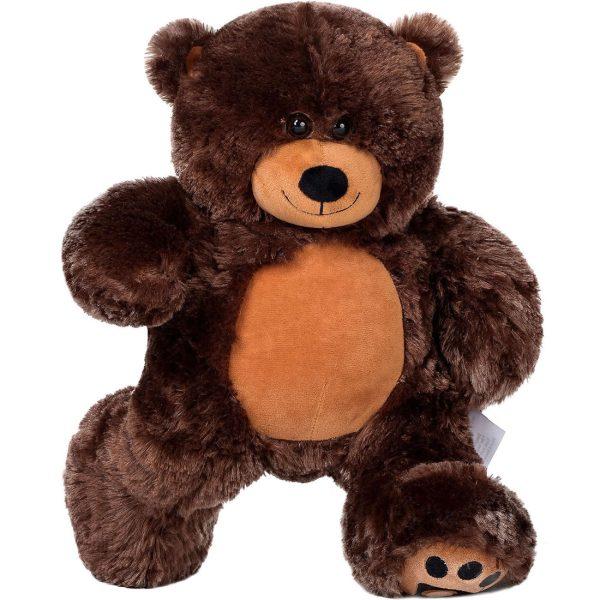 Daney teddy bear 25 dark brown 012