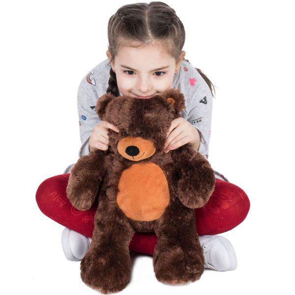Daney teddy bear 25 dark brown 017
