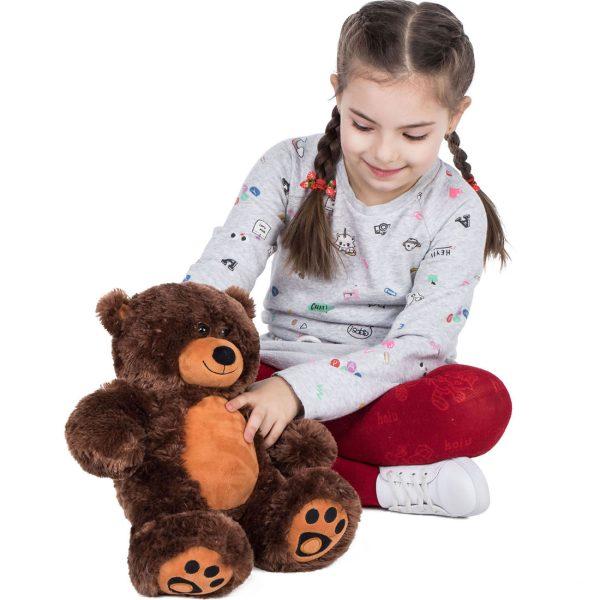 Daney teddy bear 25 dark brown 018