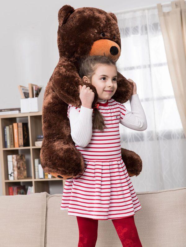 Daney teddy bear 3foot dark brown 007