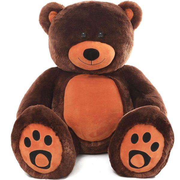 Daney teddy bear 3foot dark brown 011