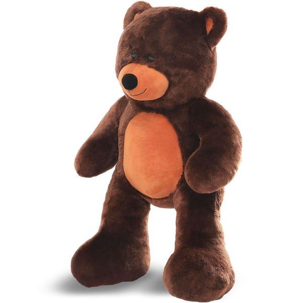 Daney teddy bear 3foot dark brown 014