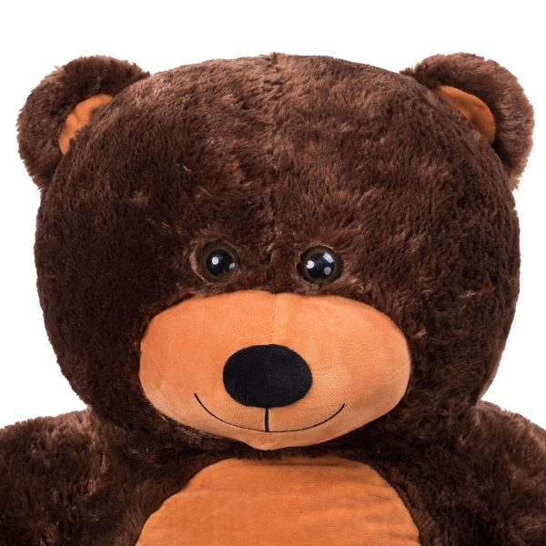 Daney teddy bear 3foot dark brown 017