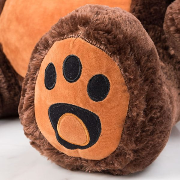 Daney teddy bear 3foot dark brown 018
