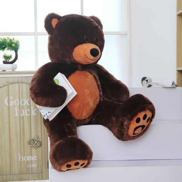 Daney teddy bear 3foot dark brown 020
