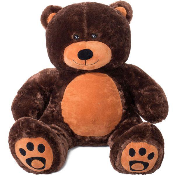 Daney teddy bear 3foot dark brown 031