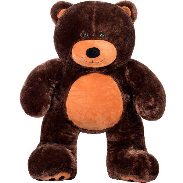 Daney teddy bear 3foot dark brown 032