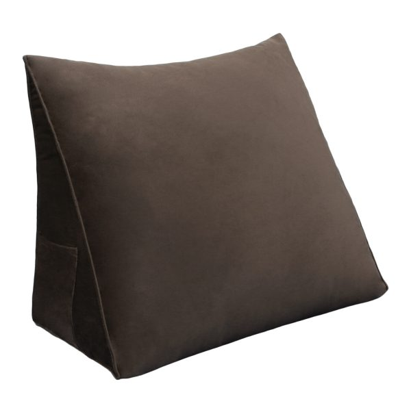 Reading pillow 18inch Coffee 01