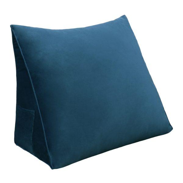 Reading pillow 18inch Dark Blue 01