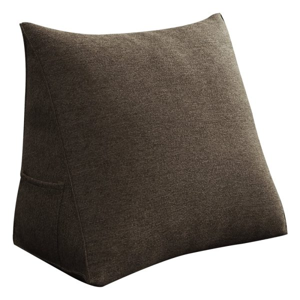 Reading pillow 18inch coffee 04
