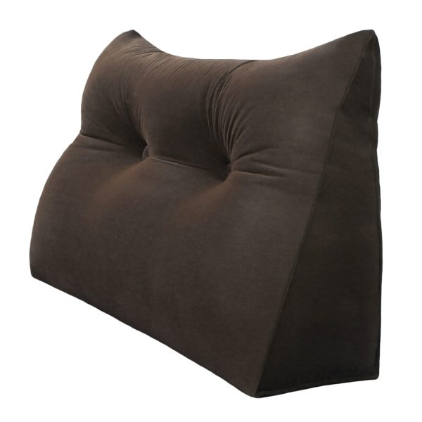 Reading pillow 24inch Coffee 01 1