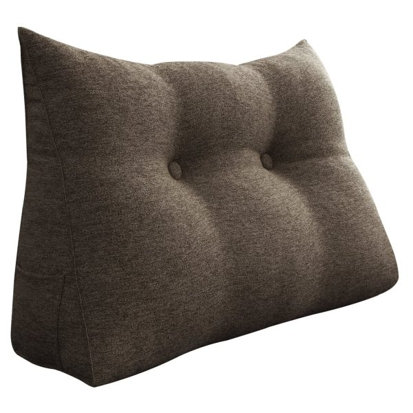Reading pillow 24inch coffee 01