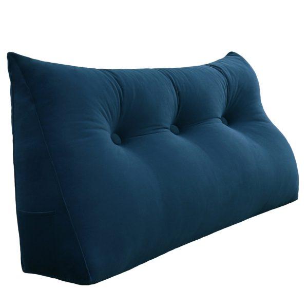 Reading pillow 39inch Dark Blue 01