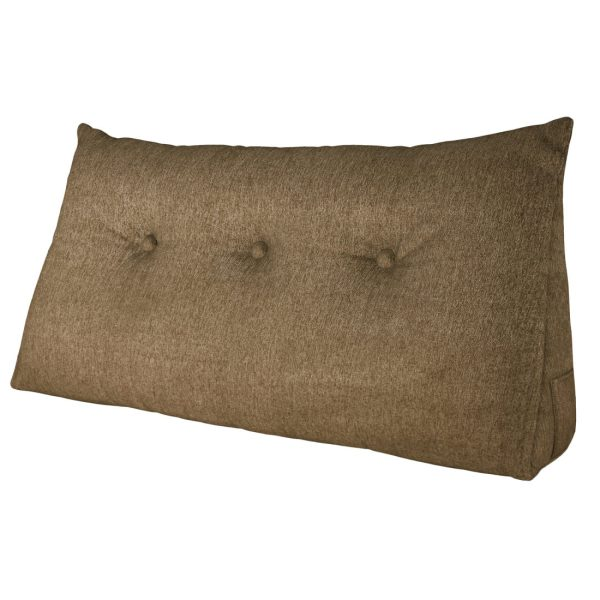 Reading pillow 39inch coffee 01
