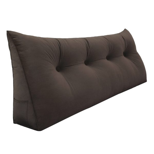 Reading pillow 47inch Coffee 01 1