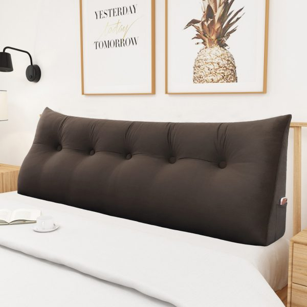 Reading pillow 59inch Coffee 04 1