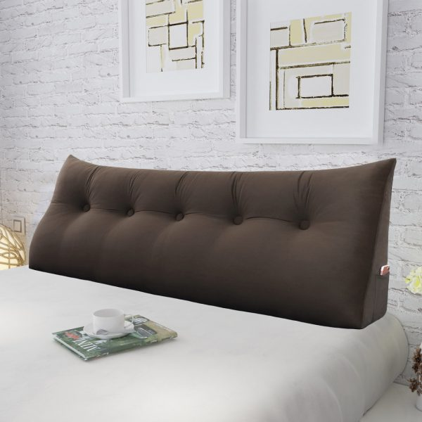Reading pillow 59inch Coffee 05 1