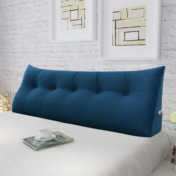 Reading pillow 59inch Dark Blue 02