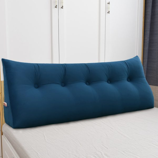 Reading pillow 59inch Dark Blue 06
