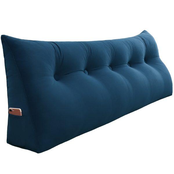 Reading pillow 59inch Dark Blue 09