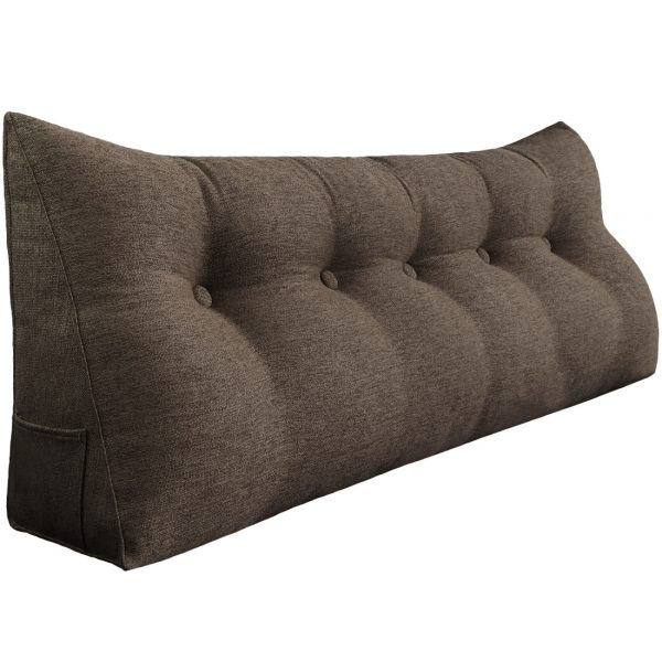 Reading pillow 59inch coffee 01