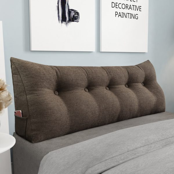 Reading pillow 59inch coffee 02