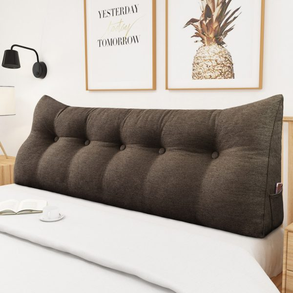 Reading pillow 59inch coffee 03